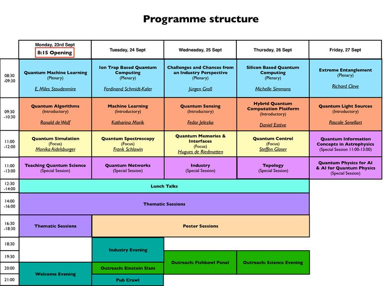 Schedule Freiburg