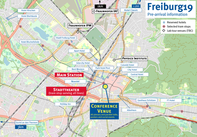 Übersicht Locations Freiburg